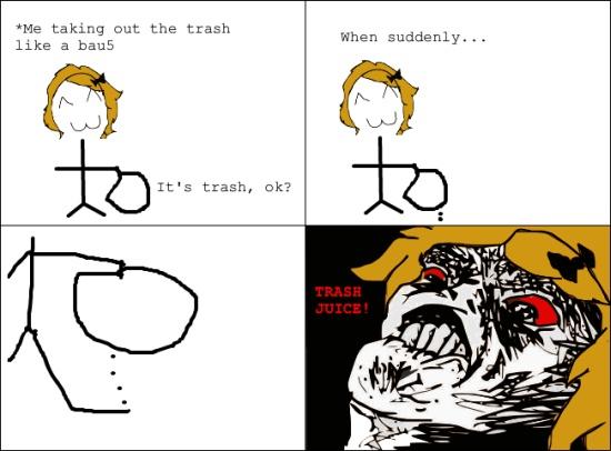 Rage Face Meme | rage face trash juice rage face meme strong wind rage face