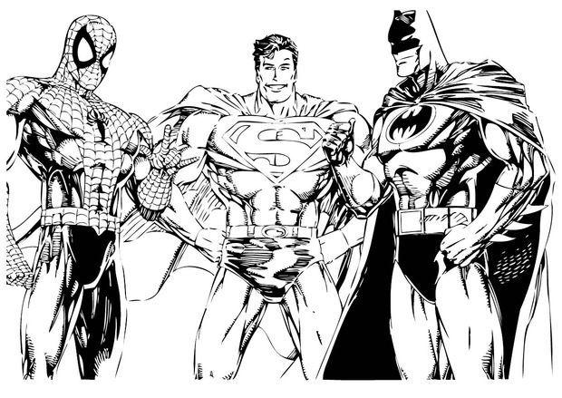 Batman V Superman Coloring Pages Di 2020