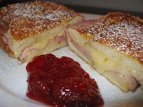 Monte CristoBreakfast Nom, Monte Cristo Sandwiches, Cooking Ideas, Monte Christo Sandwiches, Favorite Sandwiches, Monte Cristooo, Sandwiches Recipe, Comforters Food, Grilled Chees