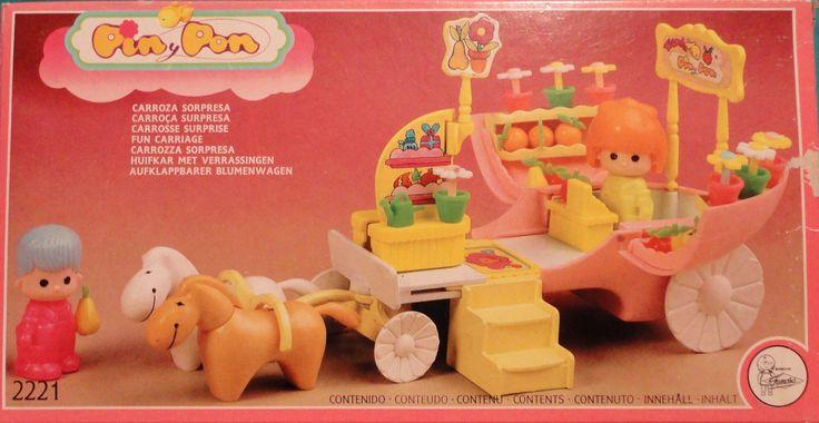 Vintage Pin y Pon carriage box / Caja Pin y Pon carroza sorpresa | Flickr - Photo Sharing!