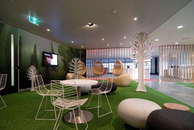 Unique Funky Office Interiors Decor The Interior Design For Bbc In Sydney Decorating
