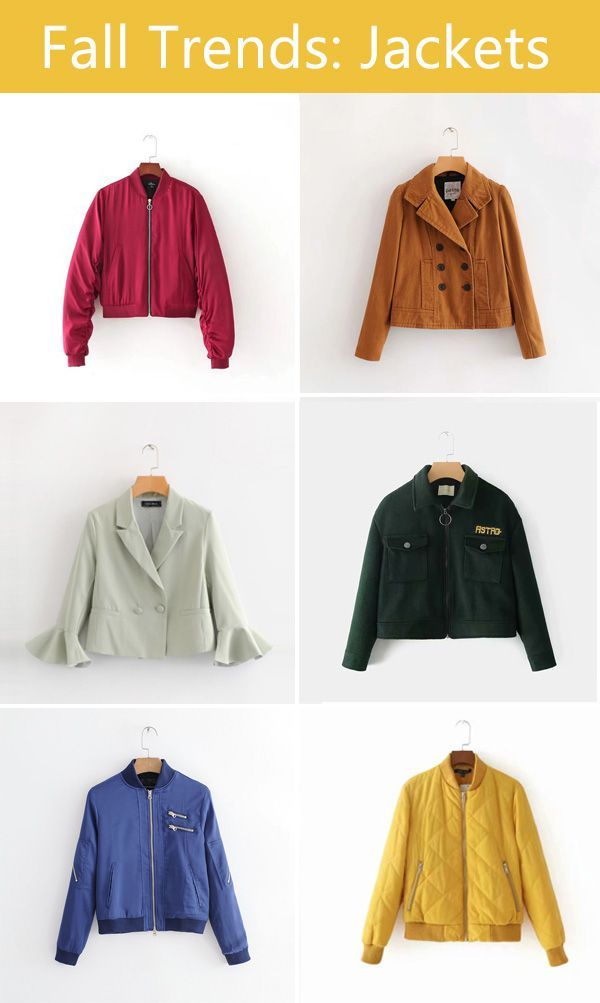 Fall casual jackets for girls #fashion #jackets (With images