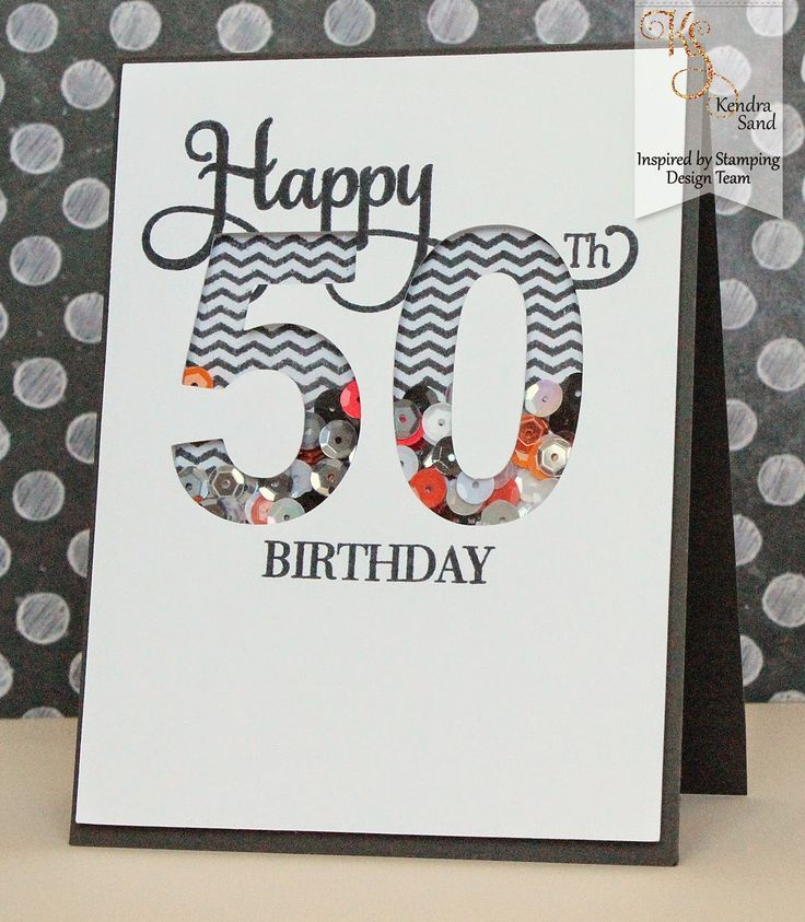 Mens 50th Birthday Cards ~ Best cards birthday numbers images on pinterest handmade birthdays and homemade