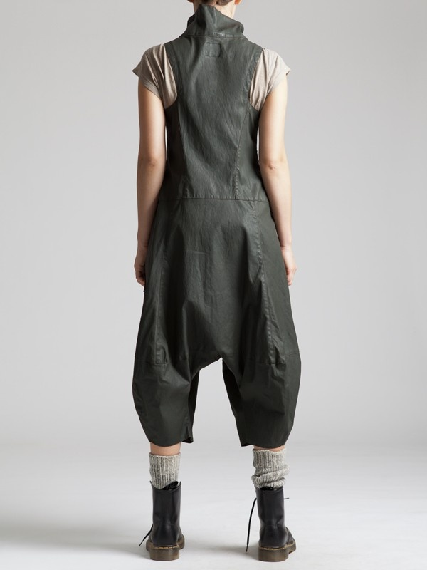 RESIN COTTON LYCRA JUMPSUIT - JACKETS, JUMPSUITS, DRESSES, TROUSERS, SKIRTS, JERSEY, KNITWEAR, ACCESORIES - Woman -