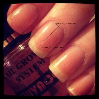 How to tell if you have short nail beds or long nail beds