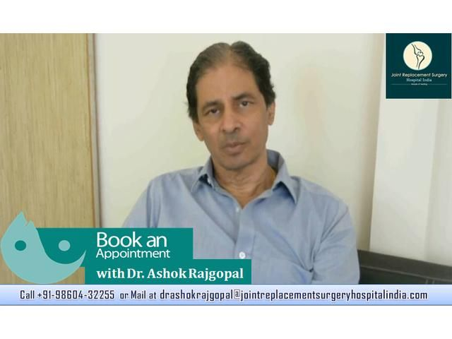 Consult #Dr. #Ashok #Rajgopal For #Knee #Surgery.