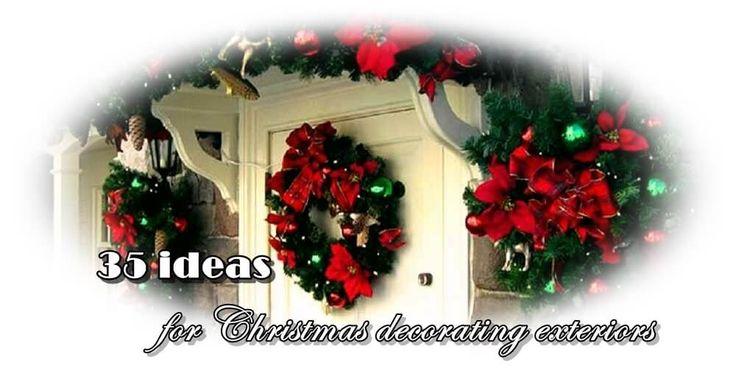 Χριστουγεννιάτικη διακόσμηση εξωτερικών χώρων