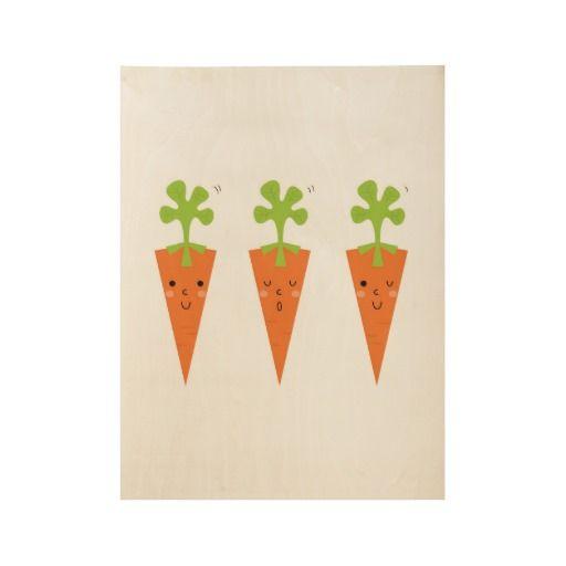 Three cute carrots Original poster