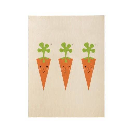 Three cute carrots Original poster