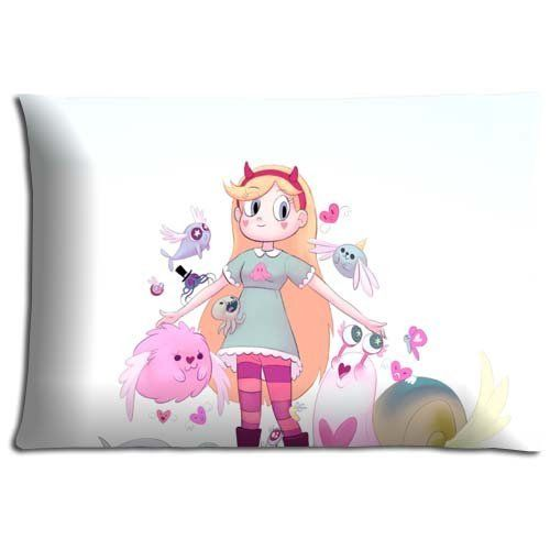 16x24 16x24 40x60cm Body pillow protector case Cotton Polyester sumptuous Guaranteed Star vs The Forces of Evil *** Want to know more, click on the image.