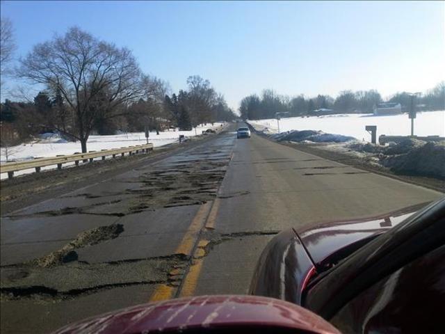 Road Sign Boards >> bad roads of michigan - Google Search | Bad Roads | Pinterest