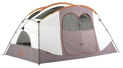 Pin it! :) Follow us :)) zCamping.com is your Camping Product Gallery ;) CLICK IMAGE TWICE for Pricing and Info :) SEE A LARGER SELECTION of 5-6 persons camping tents at http://zcamping.com/category/camping-categories/camping-tents/5-to-6-person-tents/ - hunting, camping tents, camping, camping gear - Kelty Parthenon 6-Person Tent (White/Putty) « zCamping.com