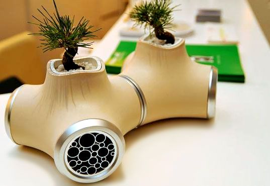 JVC Speakers – Unusual Speakers with Potted Plants