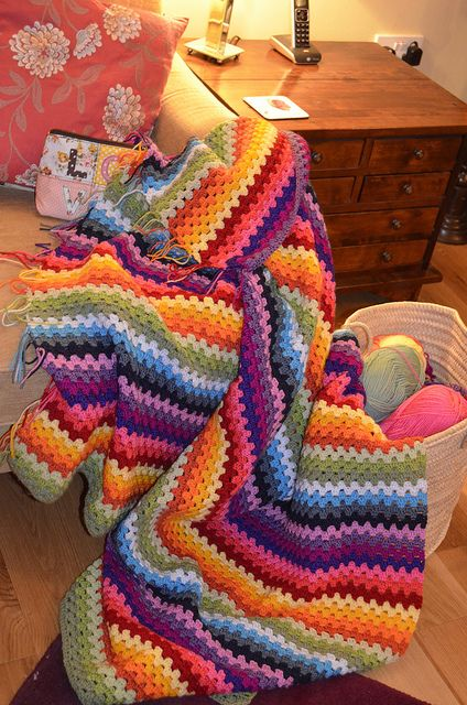 Festival Ripple Granny Stripe Blanket | Flickr – Compartilhamento de fotos!