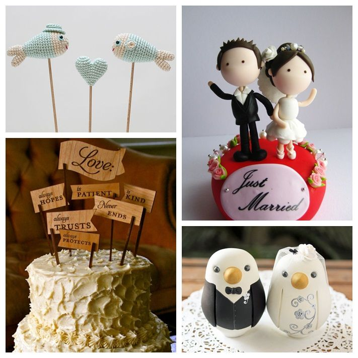 Wedding Cake Toppers: Book de ideas con mucho estilo