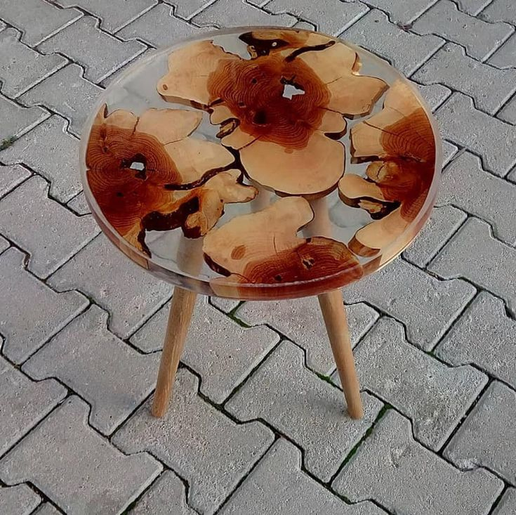 Epoxy coffee table, epoxy resin natural tree table, resin table, unique table, kitchen, living room, office, decor table