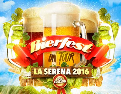 """Check out new work on my @Behance portfolio: """"Gráficas #Bierfest Chile 2015/2016."""" http://be.net/gallery/35066129/Graficas-Bierfest-Chile-20152016"""