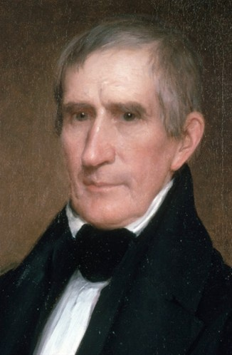 Although born to Virginia aristocracy, William Henry Harrison, the ninth US president, spent much of his life in the military in the Northwest Territory. He famously defeated the Indian chief Tecumseh at the Battle of Tippecanoe. He has the distinction of serving the shortest time in office: less than a month. He developed pneumonia and became the first president to die in office