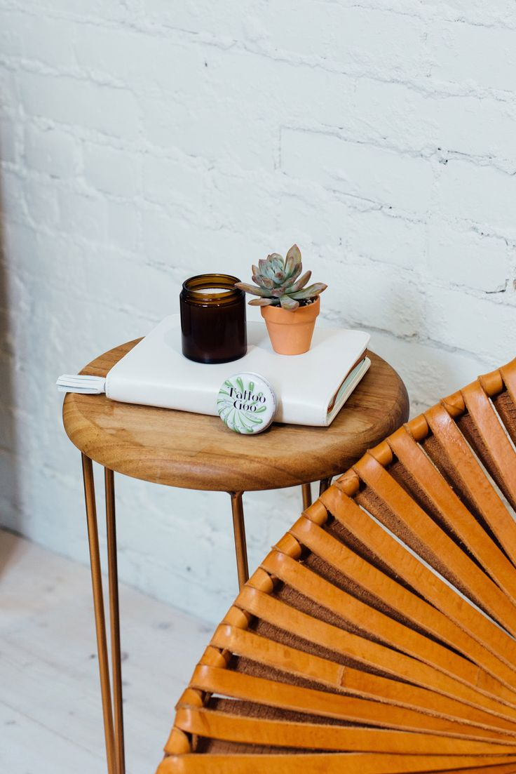 A perfect nightstand companion, our Tattoo Goo Salve has ingredients to help soothe healing skin and promotes moisture so it's great for healing and healed skin alike!