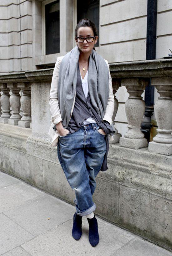 Boyfriend Jeans in London