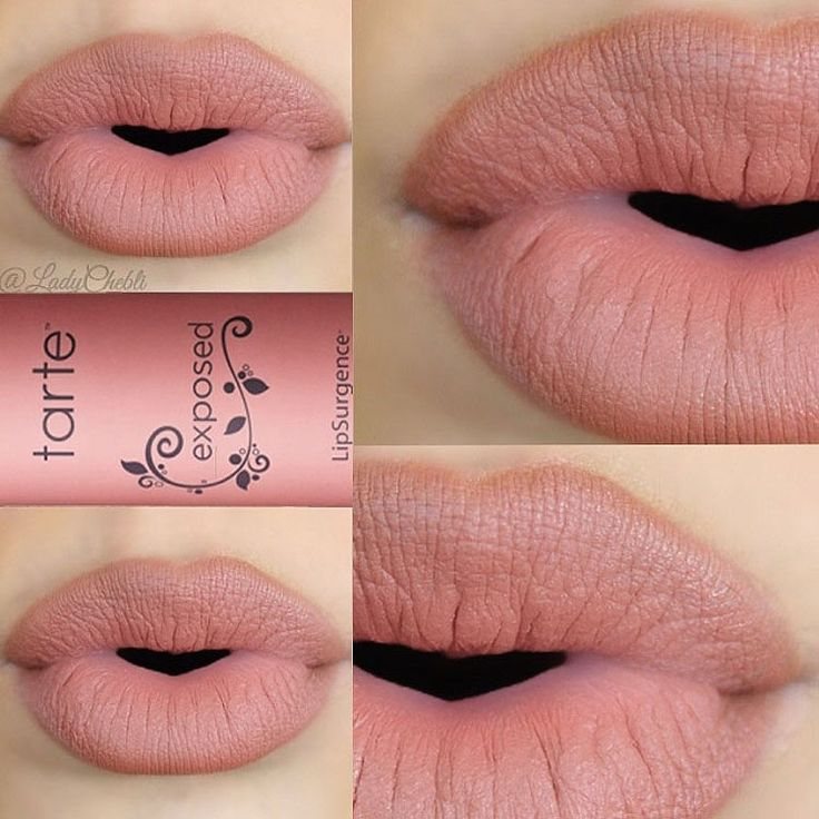 A matte nude lip is always in order! @ladychebli pouts it out with our exposed LipSurgence™ matte lip tint.