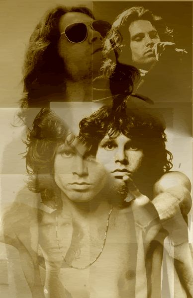 Jim Morrison...whose poetry i love in spite of its weirdness!