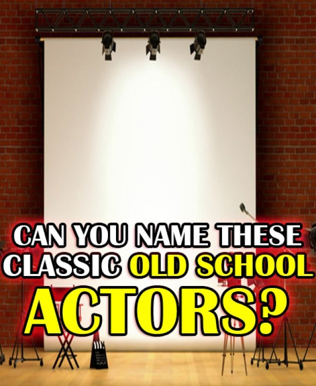 I Got Actor Aced!!! From Clark Gable, to Cary Grant, and James Dean, you know your Old School Actors! You wouldn't catch these actors in some teenybopper vampire movies, no