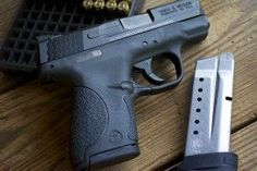 Smith & Wesson M&P Shield 9mm 1931 Loading that magazine is a pain! Find our speedloader now! http://www.amazon.com/shops/raeind