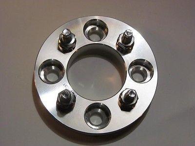 "4x100 to 4x4.5 / 4x100 to 4x114.3 Wheel 4 Lug Rim 2 Wheel Adapters 1"" Spacer"