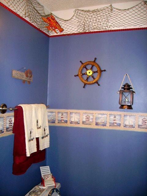 Beautiful Nautical Bathroom