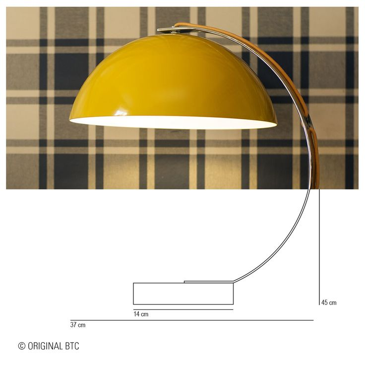 Ready for something technical? We like to make sure you have everything you need when you choose one of our lights. Here's how our London Table Light measures up.