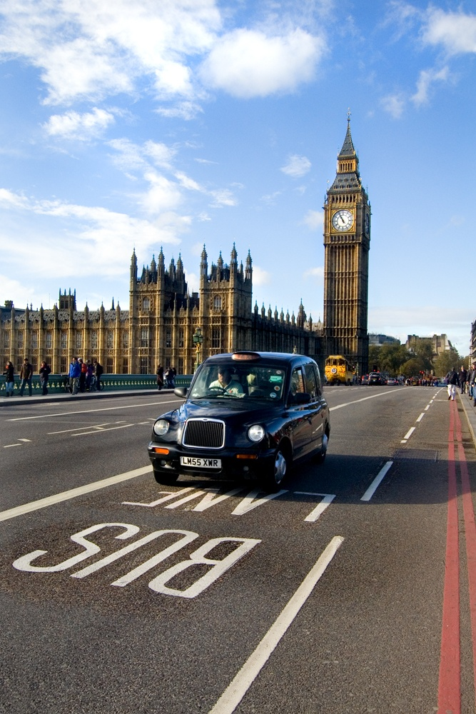 Westminster Palace. If you take a pic here, wait for a black cab or red bus. 2-3  mins max. Double bingo!