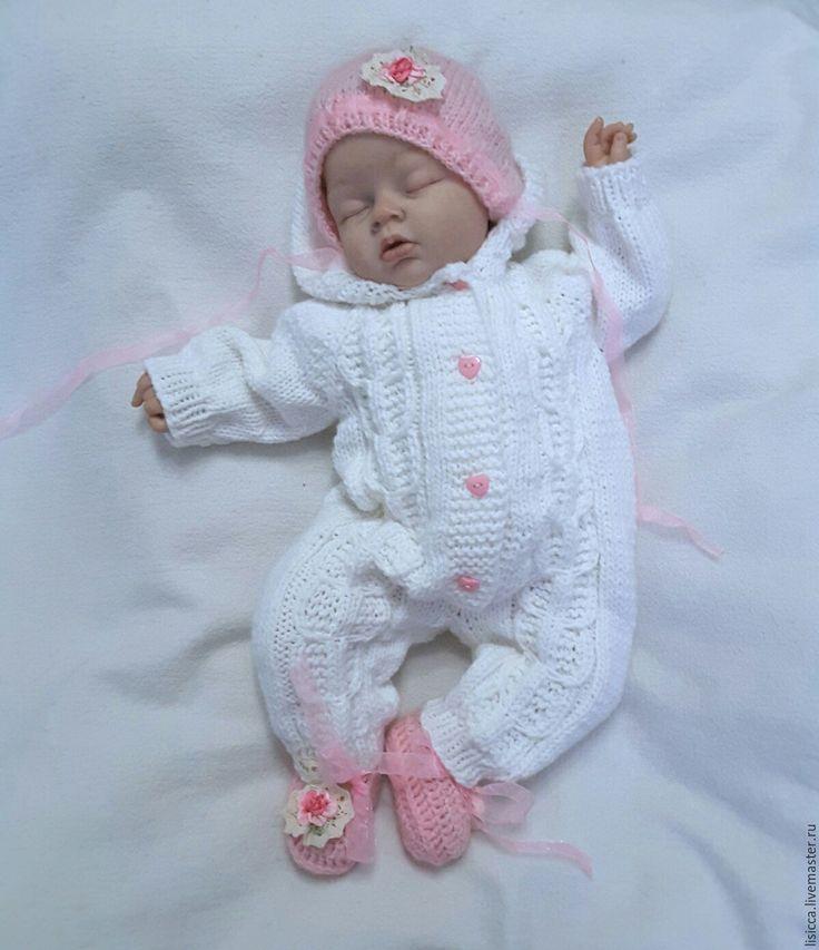Купить Комбинезон Белоснежка - розовый, комбинезон детский, комбинезон, комбинезон для малыша, для новорожденного, для новорожденных, на выписку