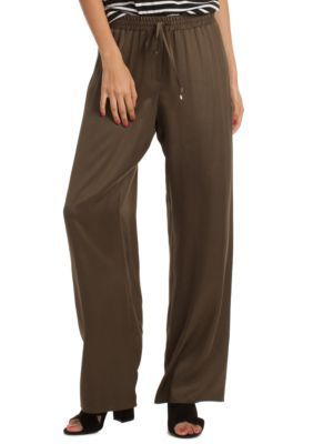 Trina Turk Women's Adonia Pants - Dark Olive - S