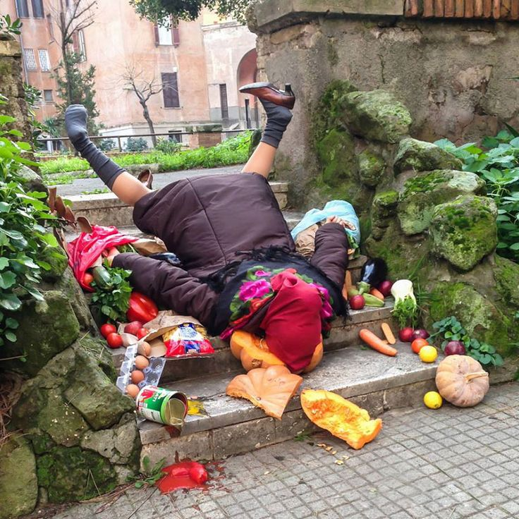 sandro giordano captures face plants and falling down for in extremis