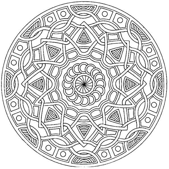 86 best mandalas images on Pinterest | Coloring books, Coloring ...
