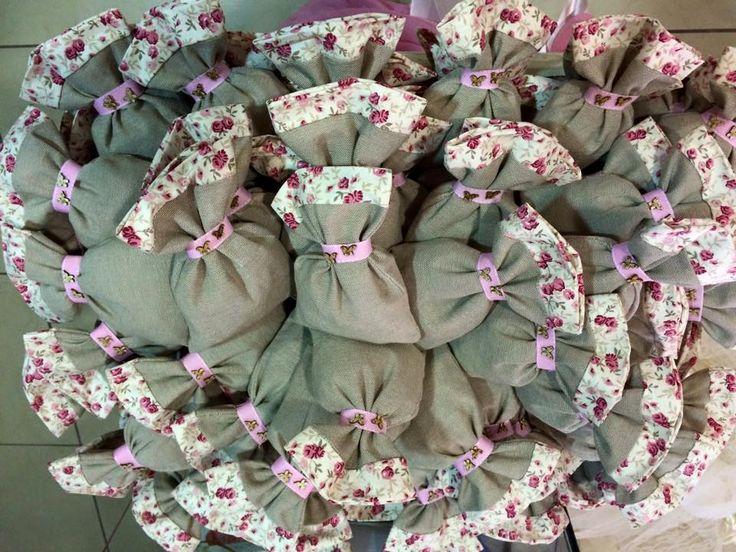 Μπομπονιέρες Γάμου floral!!!!