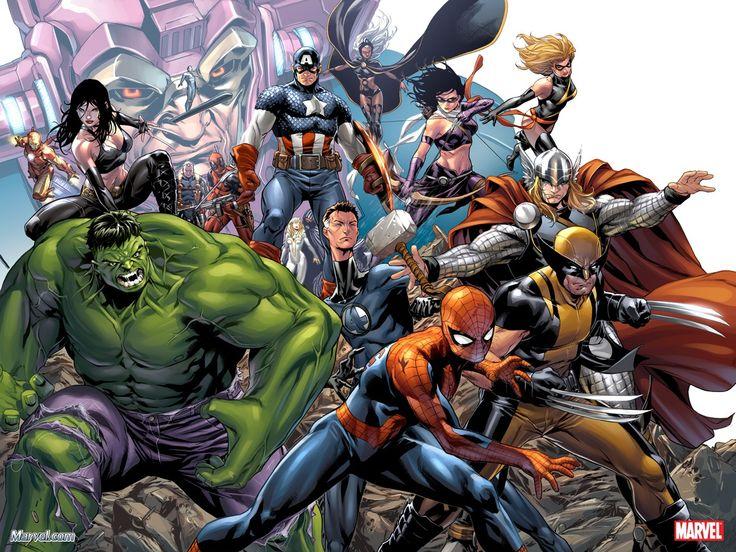 ✭ Marvel Universe by Mark Brooks