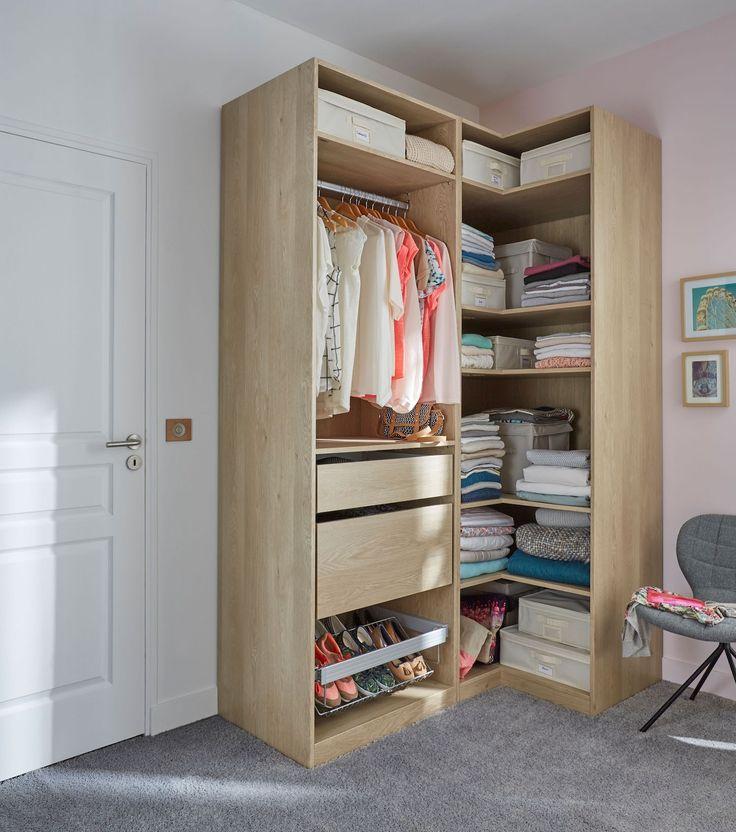 Best 25 armoire angle ideas on pinterest - Castorama dressing tout en un ...