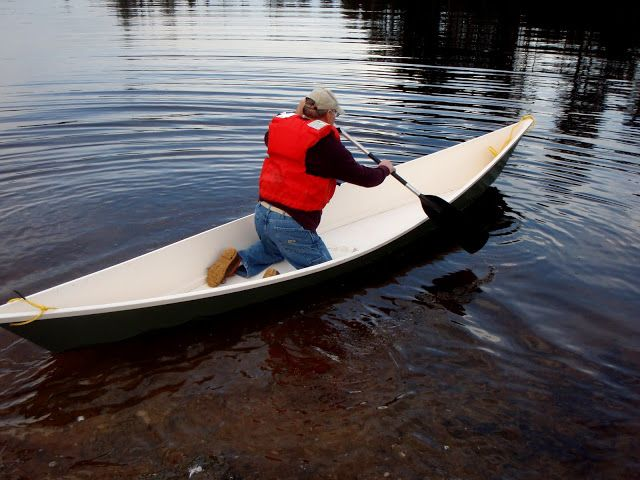 cheap canoe build