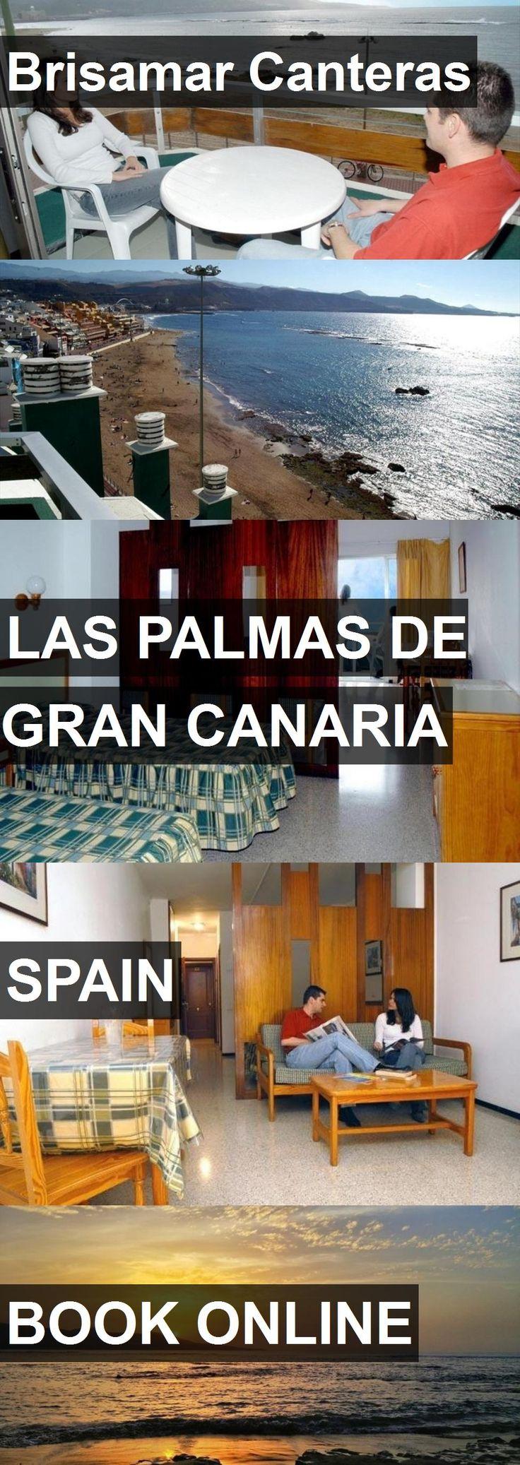 Hotel Brisamar Canteras in Las Palmas de Gran Canaria, Spain. For more information, photos, reviews and best prices please follow the link. #Spain #LasPalmasdeGranCanaria #travel #vacation #hotel