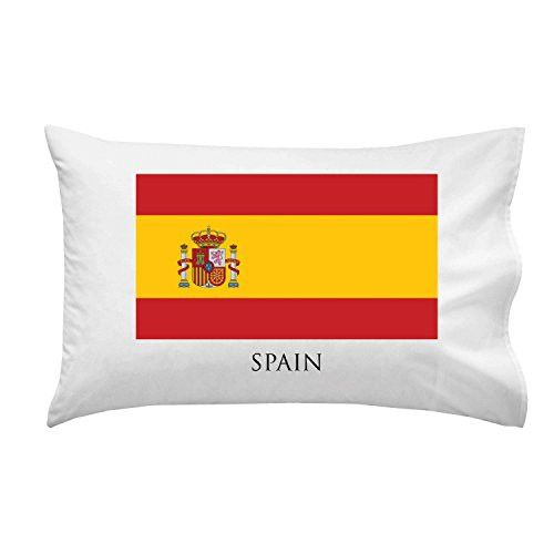 Spain - World Country National Flags - Pillow Case Single Pillowcase