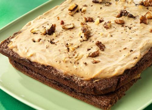 Chokladtårta med moccakräm