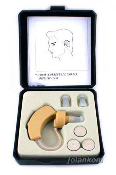 CYBER SONIC Douszny aparat słuchowy CYBER SONIC jest profesjonalnym produktem wykonanym z najwyższej jakości materiałów. Jest to niewielkich rozmiarów aparat, łatwo dający się ukryć pod włosami.  Posiada 6-cio stopniową łatwo dostępną regulację wzmocnienia. W zestawie znajdują się 3 sztuki silikonowych wkładek do uszu w różnych rozmiarach a także dołączone trzy baterie zegarkowe - LR44