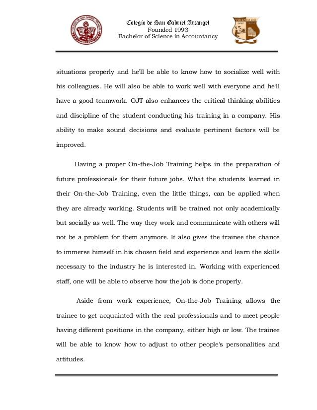science paper format