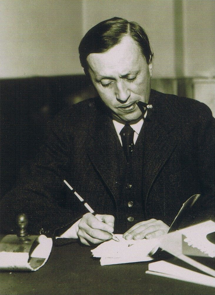 Karel Capek (1890-1938) one of the most influential Czech writers of the 20th century.