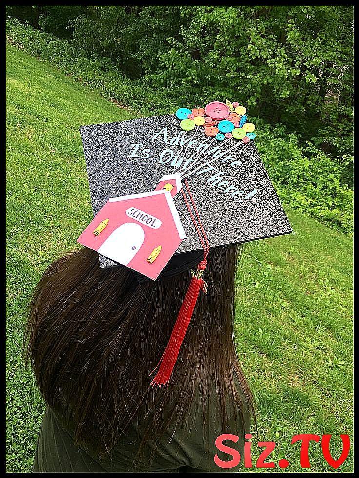 A cute graduation cap idea for elementary educatio #Cap #cute #Education #Elementary #el