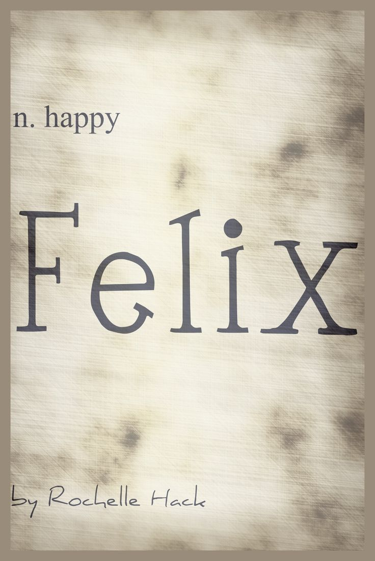 Baby Boy Name: Felix. Meaning: Happy. Origin: Latin. https://www.pinterest.com/vintagedaydream/baby-names/