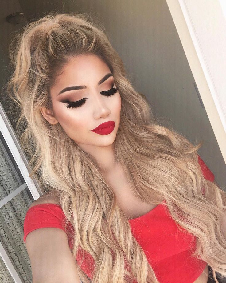 25+ Best Ideas About Red Lip Makeup On Pinterest