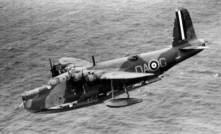 Short Sunderland Mk.1 in flight -1938